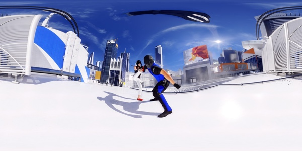 Mirrors Edge Catalyst mit ANSEL