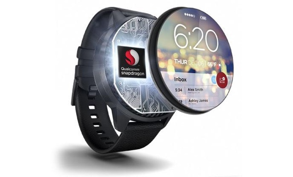 Illustration zum Qualcomm Snapdragon Wear 2100