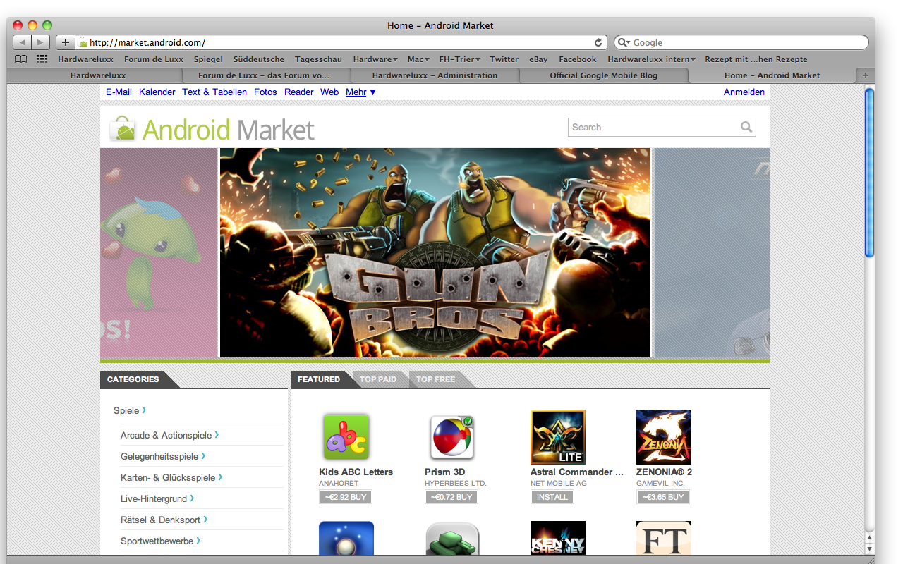 AndroidMarketWeb