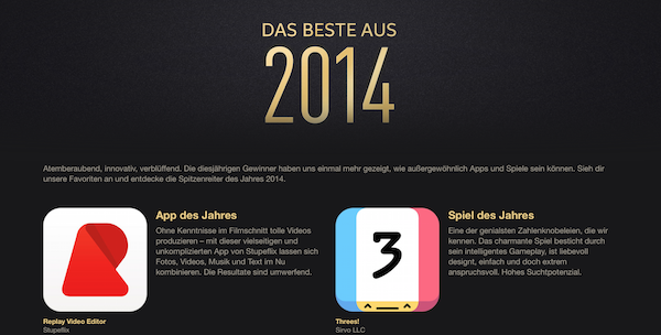 apple App Store besteaus2014 k