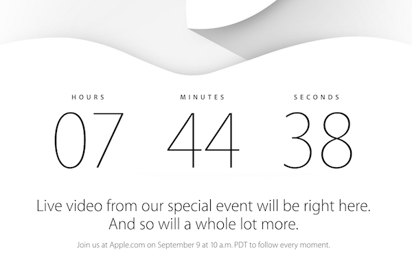 apple countdown keynote k
