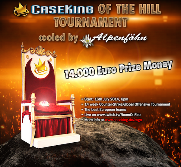caseking of the hill turnier k
