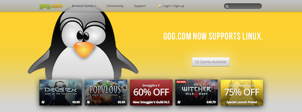 gog linux support k