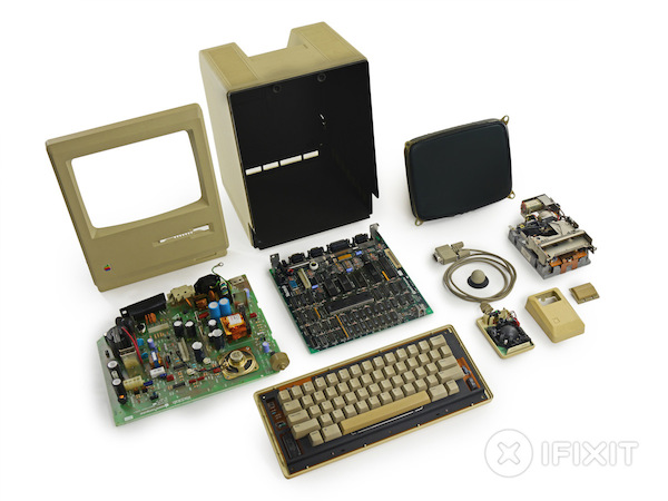 ifixit mac 128k teardown k