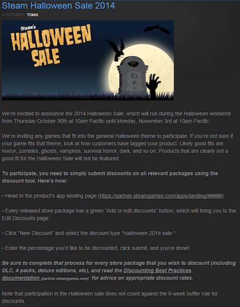reddit steam hallloweensale14 k