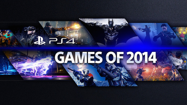 sony ps4 gamesof2014 k