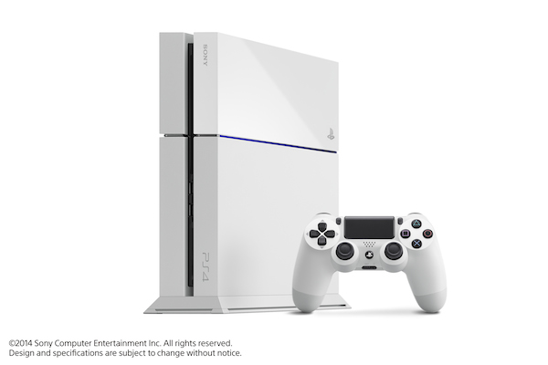 sony ps4 white k