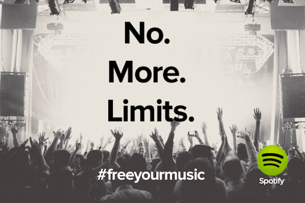 spotify free no more limits k