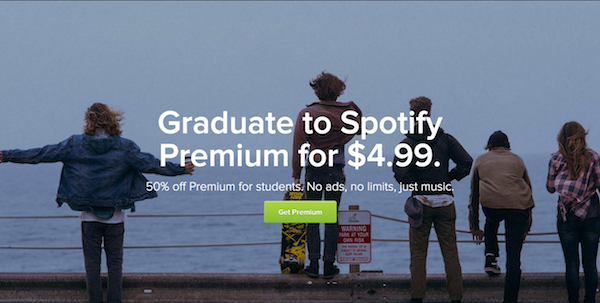 spotify studentenabo usa k