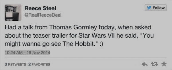 starwars7news trailer hobbit k