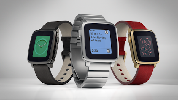 kickstarter pebble time steel k
