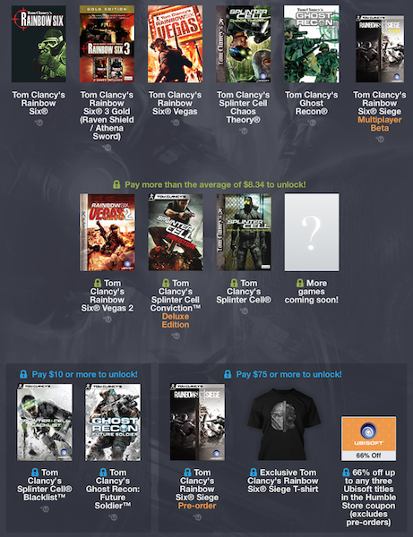 tom clancy humble bundle k