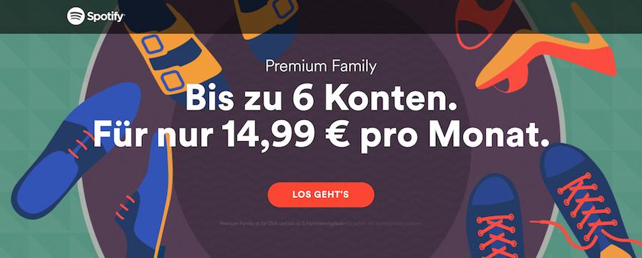 Familien Spotify