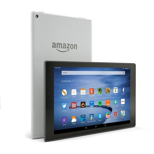 amazon fire hd 10 silber