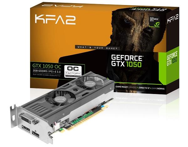 KFA 2 GTX 1050 OC Box