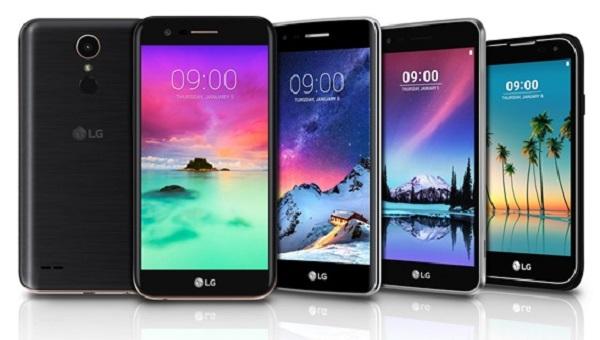 LGпредставила мобильные телефоны K3, K4, K8, K10 иStylus 3