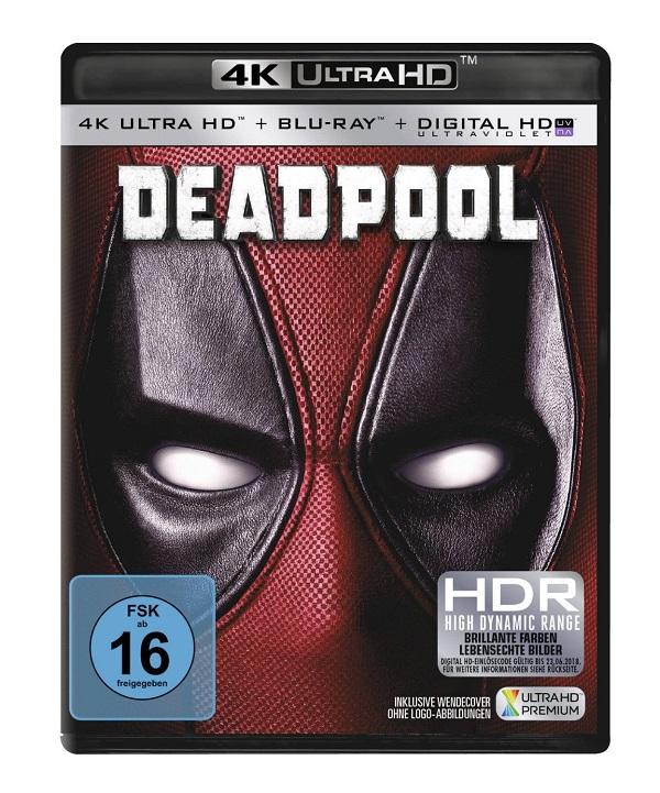 deadpool ultra hd blu ray