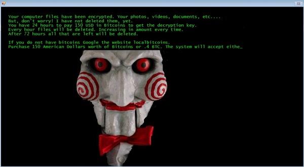 jigsaw ransomware banner