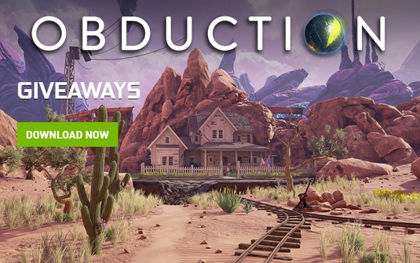 Obduction Nvidia Giveaway