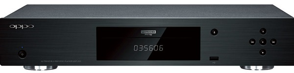 Oppo UDP 203 Ultra HD Blu ray Player