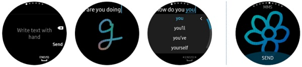 Samsung Gear S2 Value Pack Update Messaging
