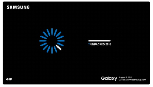 samsung galaxy note 7 unpacked