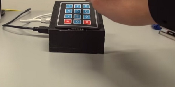 keypad wearable beltramelli