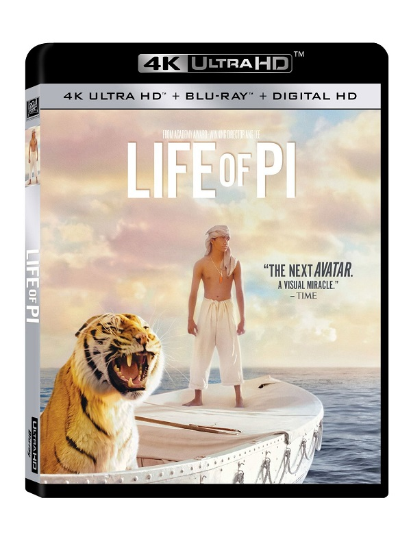 life of pi ultra hd blu ray