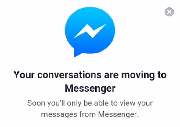 facebook messenger deativation