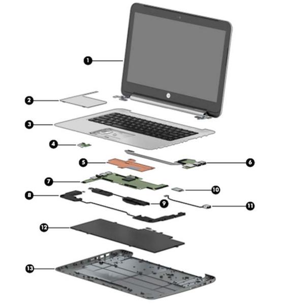 Схематическое устройство нетбука картинки