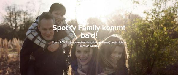Spotify Family Deutschland