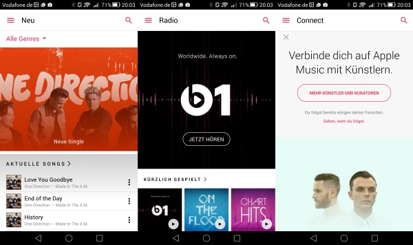 Acht Monate nach dem Start hat Apple Music elf Millionen Abonnentenn