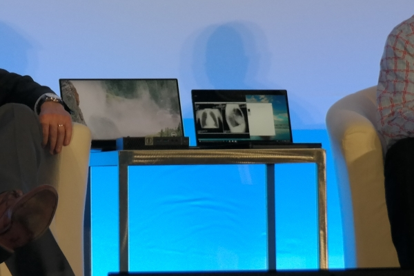 There is no technical data on the new Latitude (right, left, the new XPS 15), the keyboard dock looks, however new
