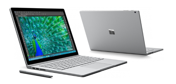 In Surface Book stuck and experiences that have been collected with the Surface Mini