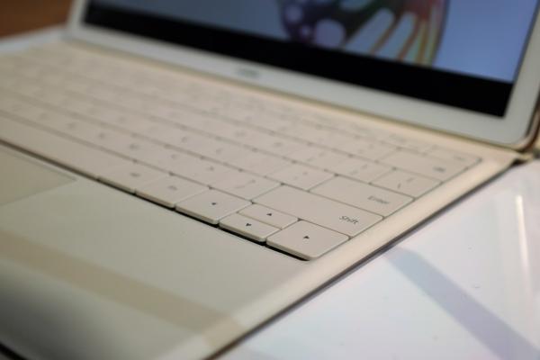 Die Tastatur des MateBook gehört zu den Schwachpunkten