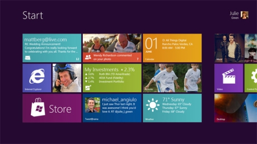microsoft windows8 preview