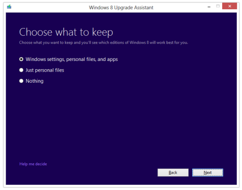 win 8 upgrade