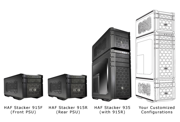 Cooler Master HAF STacker 1