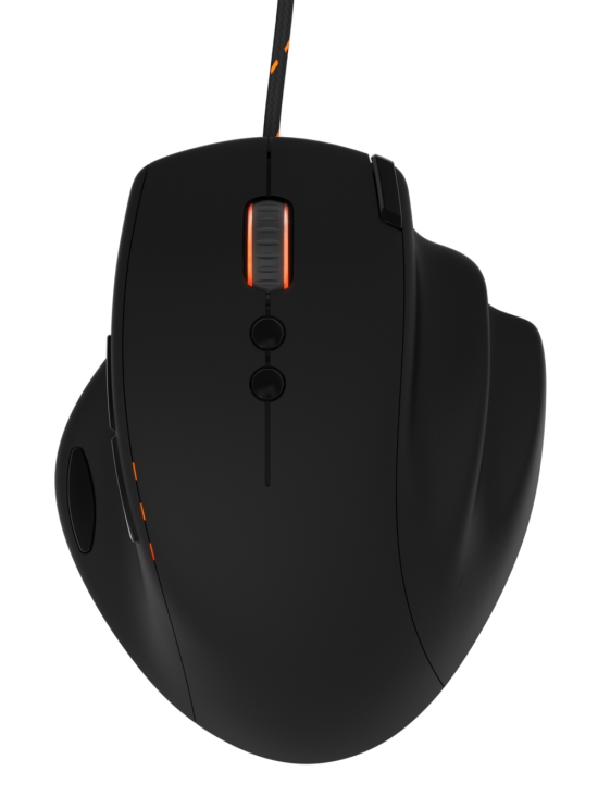 Func MS-3 Gaming Mouse Top View