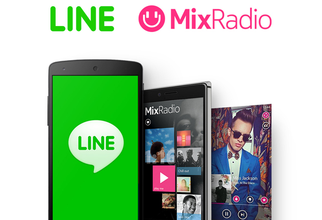 LINE and MixRadio feat
