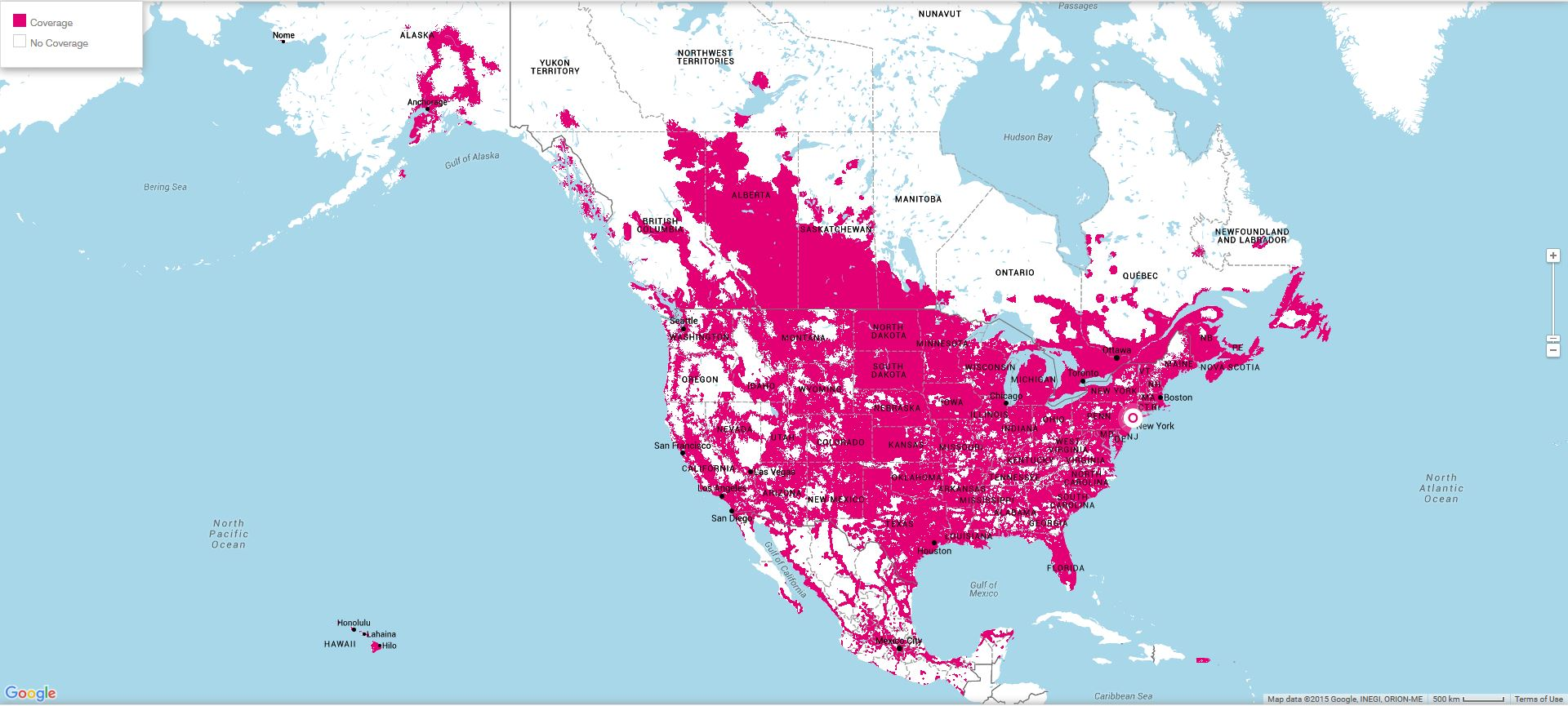 T Mobile US Coverage
