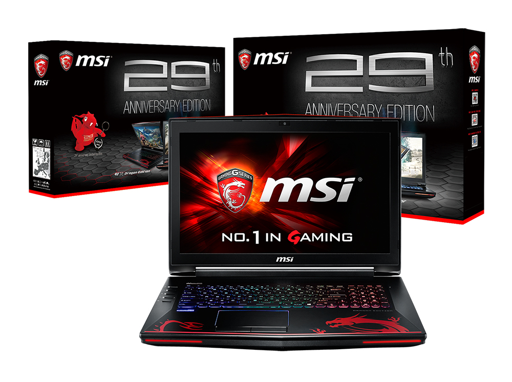 msi nb gt72 6qf 29th anniversary edition