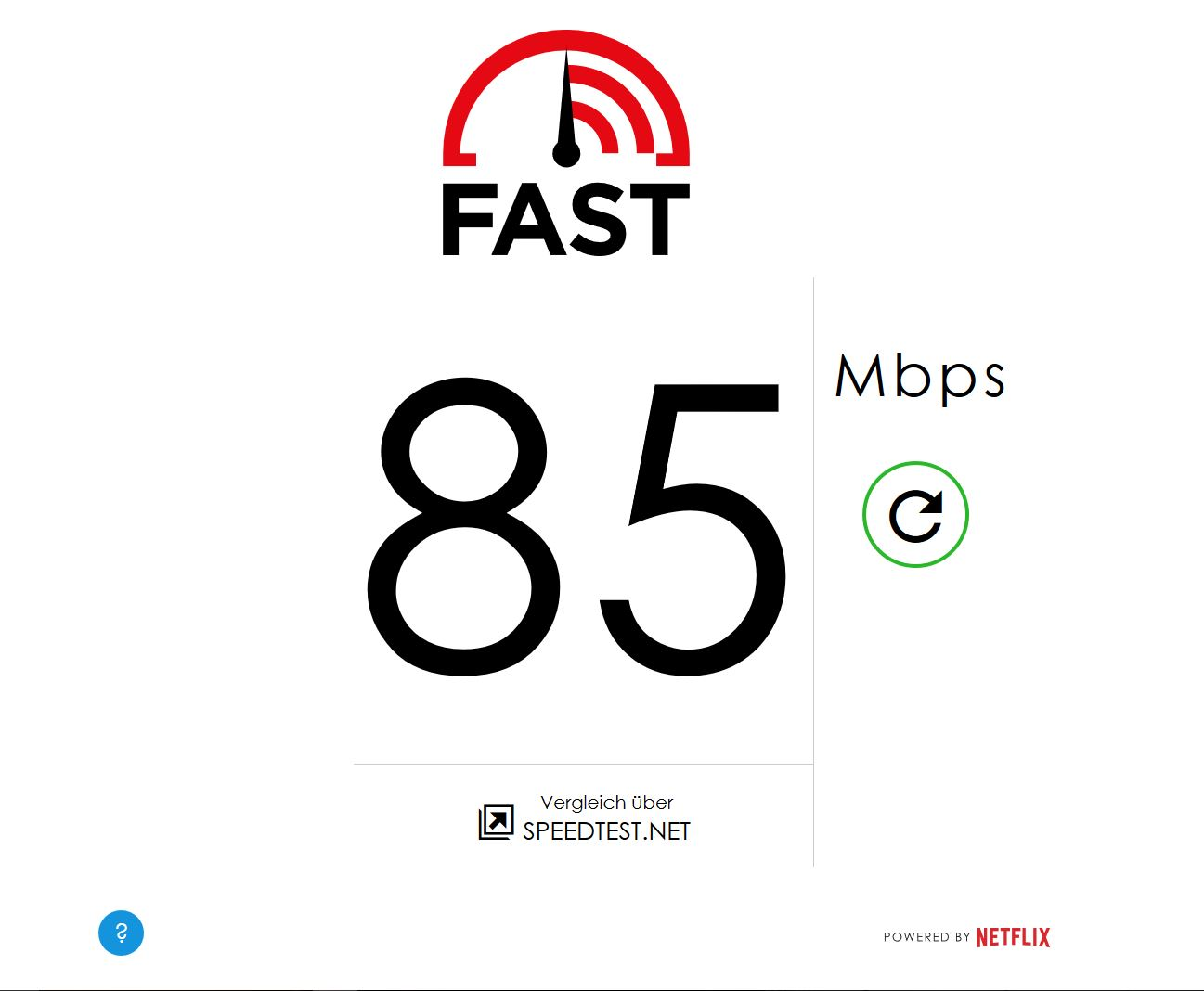 Speedtest Netflix