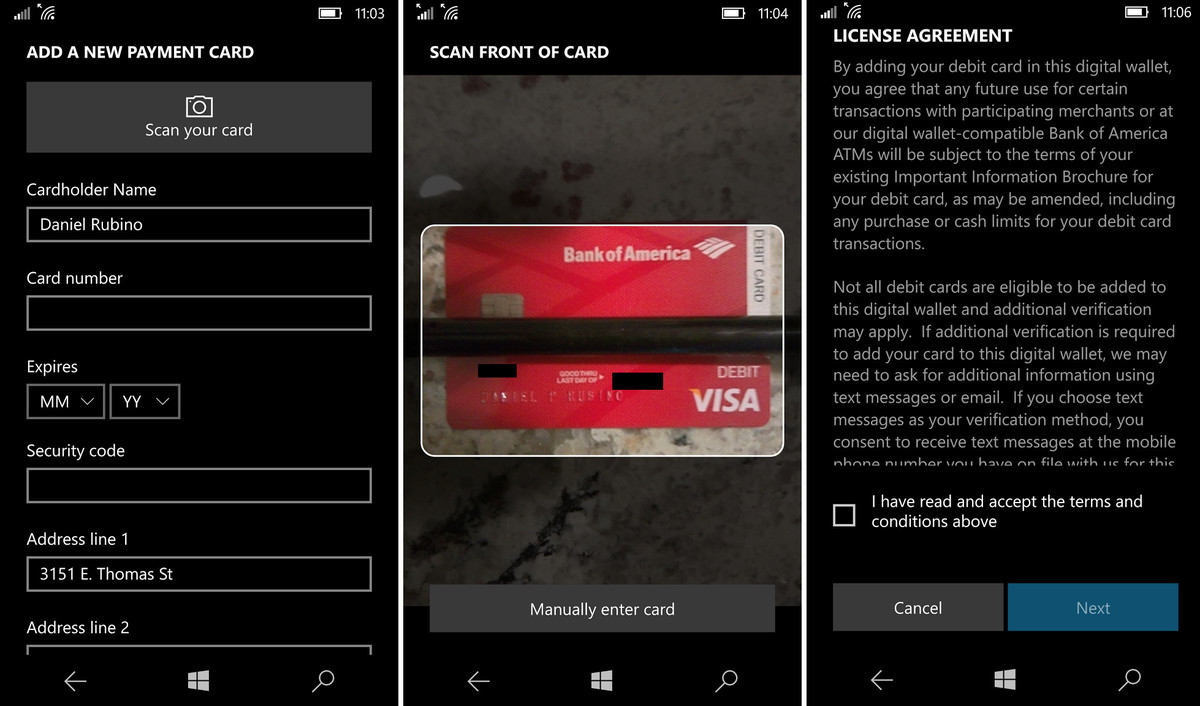 microsoft payments 3