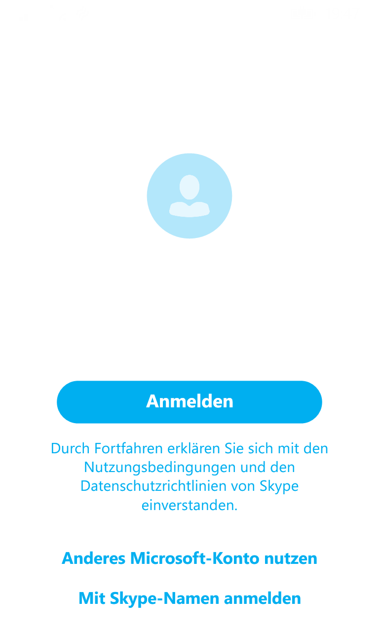 how to delete old skype logins