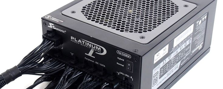 Test: Seasonic Platinum 1050W