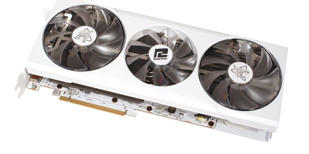 PowerColor RX 6700 XT Hellhound Spectral White