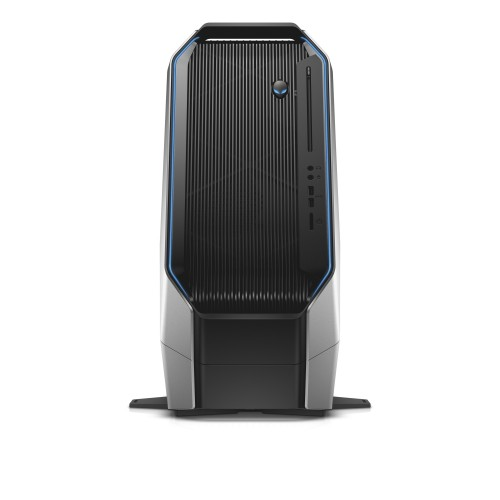 Alienware Area-51 (codename Centauri) desktop gaming computer with foot.