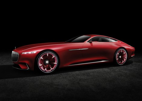 Vision Mercedes-Maybach 6: Studie eines extravaganten Coupés der Luxusklasse; 2016 ;Vision Mercedes-Maybach 6: Study of an ultra-stylish luxury-class coupé; 2016;